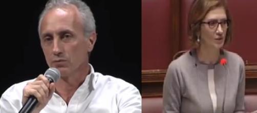 Travaglio-Gelmini, scontro in diretta Tv sulla questione reddito di cittadinanza