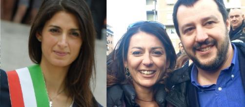 Virginia Raggi a processo e Salvini sogna il Campidoglio con la Saltamartini, possibile candidata della Lega