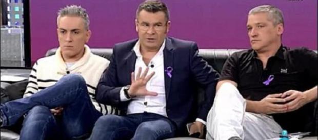 Kiko Hernández, Jorge Javier Vázquez y Gustavo González.