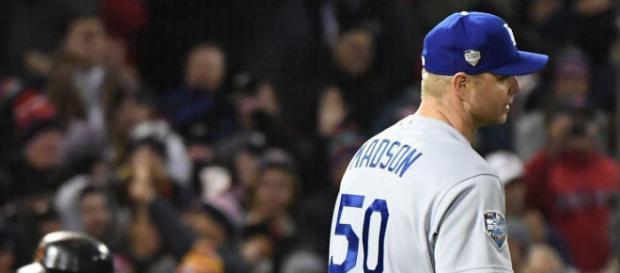 Ryan Madson y Dave Roberts han sido una combinación letal para los Dodgers. MLB.com.