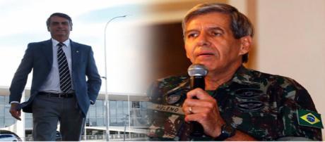 General Heleno afirma que Bolsonaro pode ser alvo de atentados terroristas