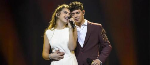 Amaia y Alfred, en el Festival de Eurovisión. / RTVE