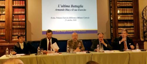 Conferenza a Roma per celebrare Armando Diaz, il generale che ha portato l'Italia, cento anni fa, alla vittoria nella Prima Guerra Mondiale