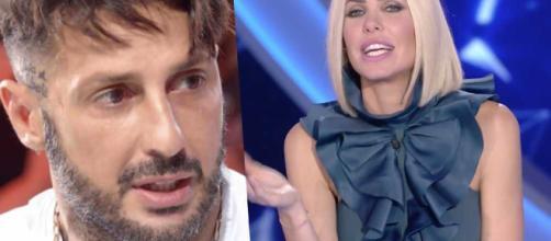 Gf Vip, lite furiosa tra Ilary e Fabrizio Corona, lui replica su Instagram
