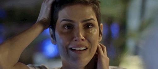 Laureta ordenará que Karola atire em Remy em Segundo Sol (Foto: TV Globo)