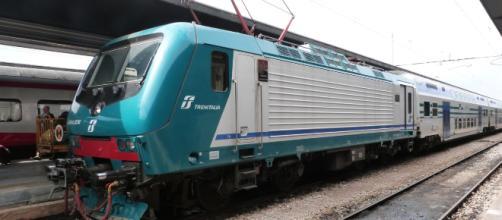 Un convoglio regionale Trenitalia