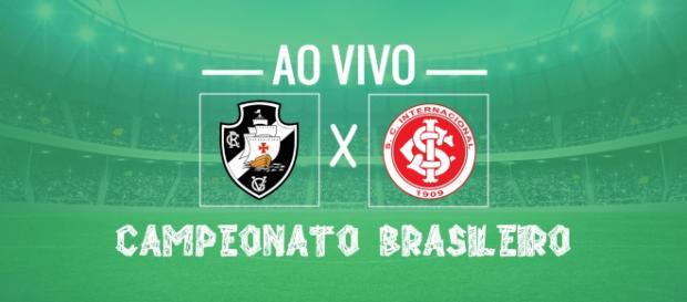 Enquanto o Inter está em 3º lugar no Brasileirão, o Vasco está em 15º