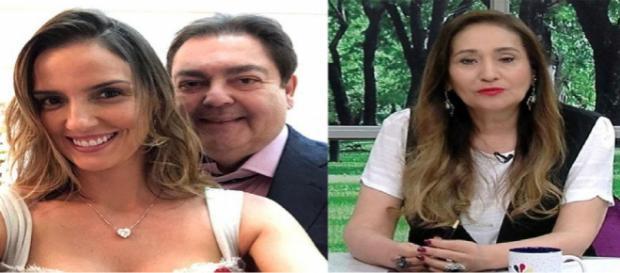 Esposa de Faustão, Luciana Cardoso, deu um recado direto para Sônia Abrão