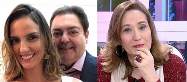 Esposa de Fausto Silva brincou com suposta separação. (foto reprodução).