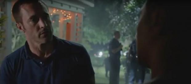 Look for new faces on this Halloween Hawaii Five-O episode, as Steve relies on a child as an eyewitness. [Image source: TVMOVIEPROMOS-YouTube]