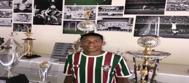 Marcos Paulo está relacionado para jogo do Flu no Brasileirão (Foto: Lucas Merçon)