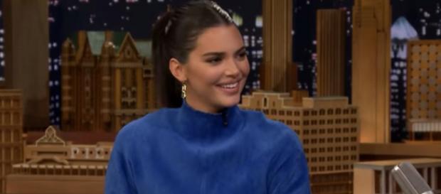 Kendall Jenner on Fallon's show. - [The Tonight Show Starring Jimmy Fallon / YouTube screencap]