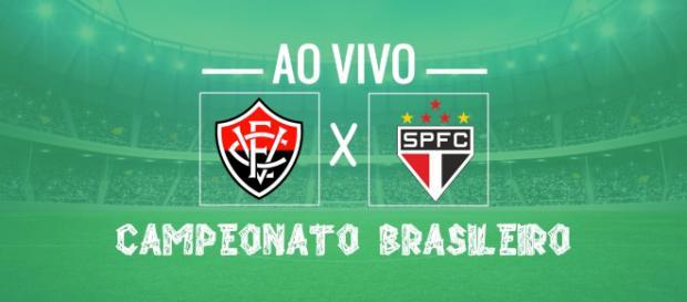 Vitória x São Paulo ao vivo nesta sexta