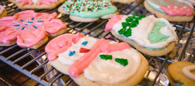 Decorative cookie icing recipe with variations