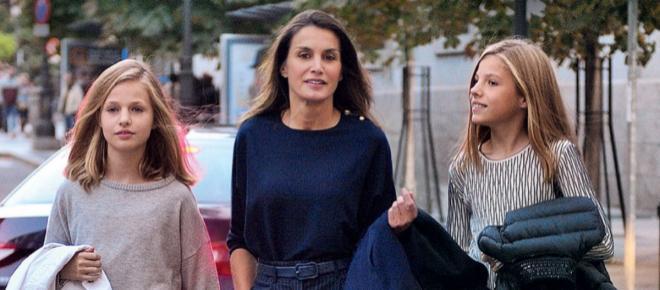 Críticas en las redes sociales tras conocerse el primer acto oficial de la princesa Leonor