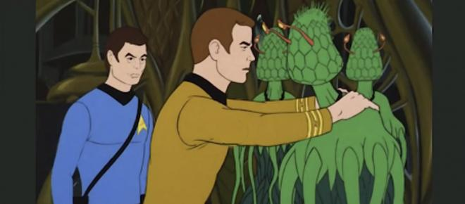 Star Trek animated series going where no comedy has gone before