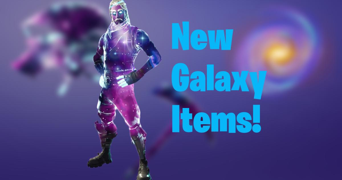 Fortnite New Leaks Suggest Galaxy Skin Cosmetics Will Be Added To