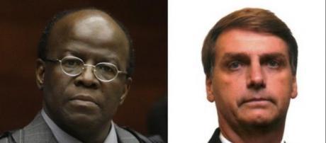 Bolsonaro ironiza Joaquim Barbosa