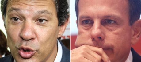 Fernando Haddad acusa Doria de atrapalhar sua candidatura. (foto reprodução).