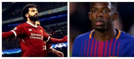 Salah e Dembélé [Imagens via YouTube]