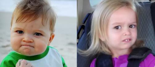 Antes e depois de personagens que bombaram na internet