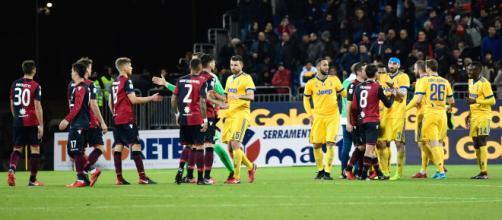 Juventus-Cagliari: sabato in streaming live su Dazn