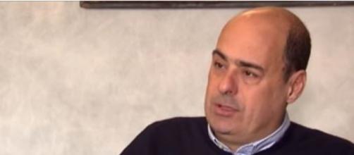 Nicola Zingaretti, uno dei volti 'nuovi' del PD (Ph. Youtube)
