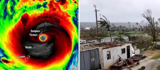 Il super tifone Yutu devasta Saipan ed è diretto sulle Filippine