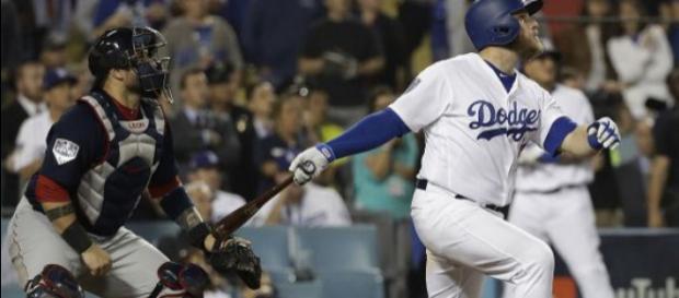 Muncy fue el héroe del juego 3 de la Serie Mundial 2018. MLB.com.