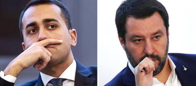 Salvataggio banche, è scontro Lega-M5s: Salvini disposto ad un decreto, Di Maio contrario