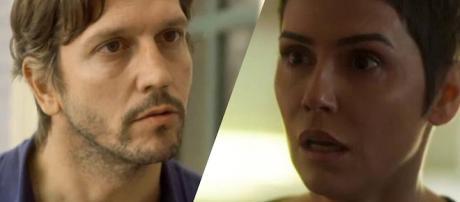 Remy e Karola, personagens de Segundo Sol.