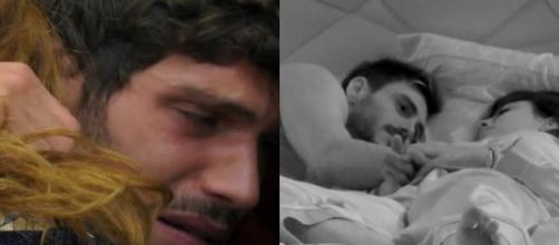 Gf Vip: Giulia e Francesco si sono baciati, Fongaro in lacrime per colpa di Cecchi Paone