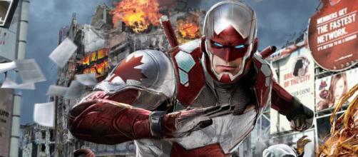 O Capitão Canuck é a versão canadense do Capitão América. (foto reprodução).