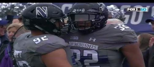 Northwestern is leading the way in the Big Ten. - [Footballnation / YouTube screencap]