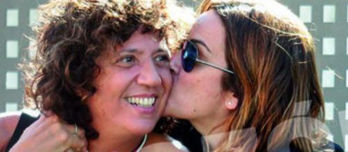 Toñi Moreno y Rosana en imagen de archivo