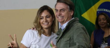 Conheça a nova primeira-dama, Michelle Bolsonaro. (foto reprodução).