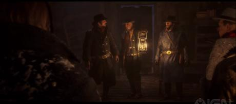 The 'Red Dead Redemption 2' app may contain clues on a PC version of the game [Image Credit: IGN/YouTube screencap]