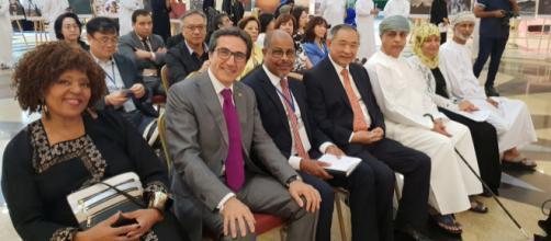 José María Chiquillo durante la 4ª reunión de la Red UNESCO RUTAS DE LA SEDA