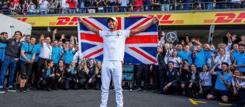 Lewis Hamilton, l'autre champion 5 étoiles de Mercedes - Formule 1 ... - eurosport.fr