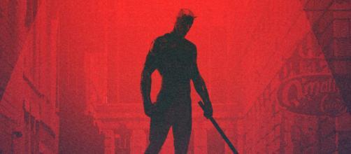 O traje vermelho é o mais conhecido pelos fãs do Demolidor. (foto reprodução).