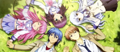 Protagonistas del anime Angel Beats