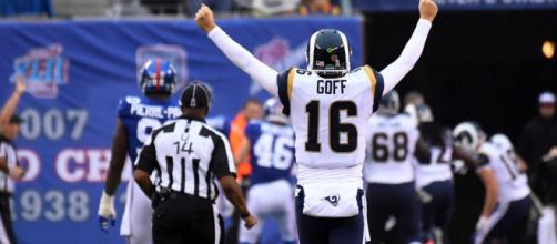 The Rams have been the best team in the NFL so far. [Image via USA Today/YouTube]