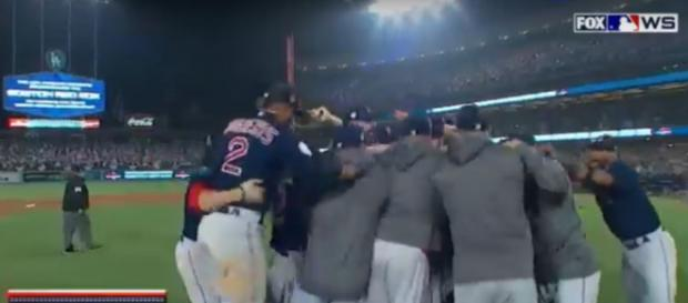 David Price helps Red Sox beat Dodgers to win the World Series. [Youtube screenshot - Highlight Heaven]