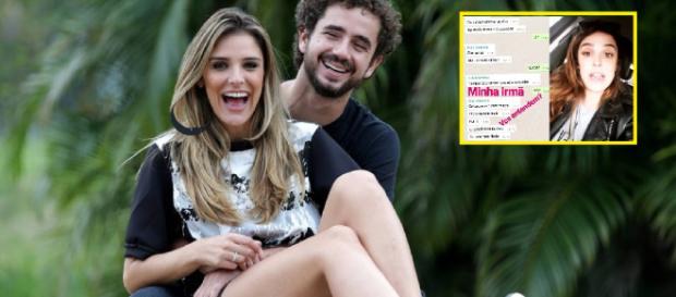 Rafa Brites revela agressão à irmã gau por eleitor do Bolsonaro. (foto reprodução).