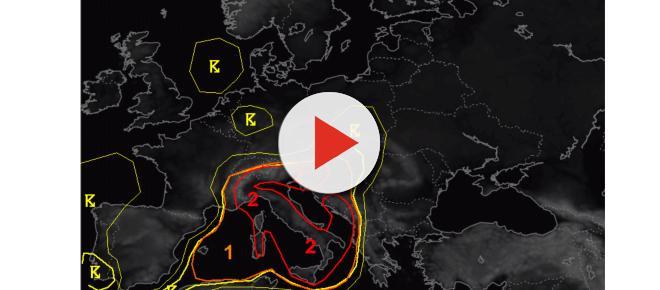 Maltempo Liguria: piogge intense sullo spezzino, ESTOFEX dirama l'allerta due