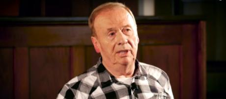 Geoff Emerick died of a heart attack yesterday, yet his tireless wizardry keeps the Beatles' music alive forever. [Image source:RAA-YouTube]