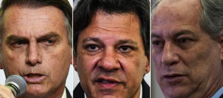 Jair Bolsonaro amplia liderança com relação a última pesquisa do Datafolha e Haddad dispara em rejeição. (foto reprodução)