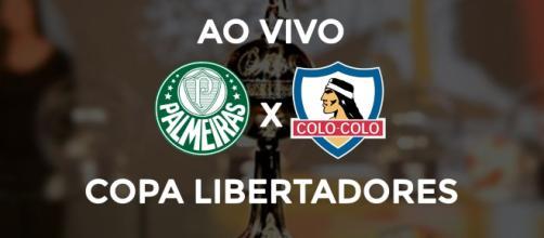 Libertadores: Palmeiras x Colo-Colo ao vivo