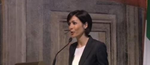 Mara Carfagna rimprovera Salvini in Aula (Ph. Youtube)