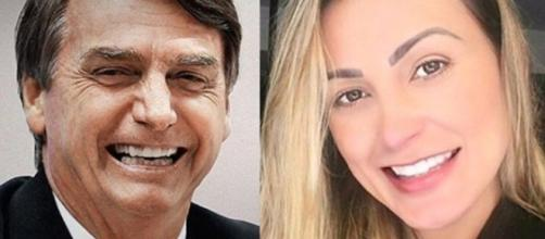 Mulheres famosas a favor de Bolsonaro.